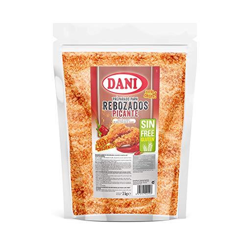 Dani - Preparado para rebozados SIN GLUTEN picante - Bolsa de 3 Kg