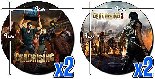 MasTazas Dead Rising 3 Untersetzer x4 Coasters