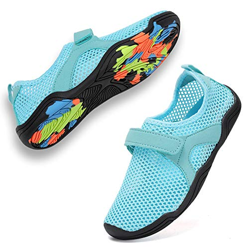CIOR Boys and Girls Water Shoes Quick Drying Sports Aqua Athletic Sneakers Lightweight Sportshoes