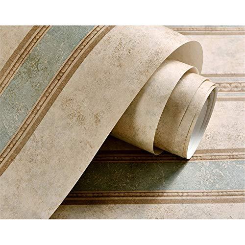 Vintage Land-Tapete Landhausstil Nostalgie TV Hintergrund Wand Papier Wohnzimmer Schlafzimmer Vertikale Streifen Vlies
