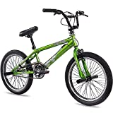 KCP 20' BMX Kids Bike Bicycle Doom 360 Rotor Freestyle Green (g) - 50,8 cm (20 Inch)
