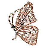 Epinki Joyería Broche de Mujer Mariposa Forma Alfiler Broche de Flor Vestido de...