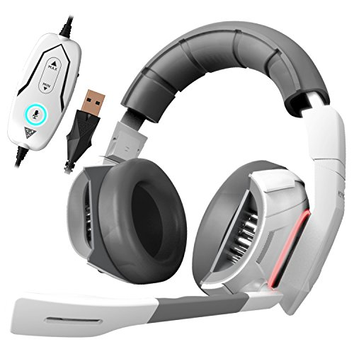 GAMDIAS Hephaestus Virtual Surround Sound 7.1 Gaming Headset with USB, Blast Source Identifier & Heat Sink System(GHS2000)
