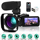 Best Camcorder For Huntings - Camcorder Video Camera,1080P 30FPS IR Night Vision YouTube Review
