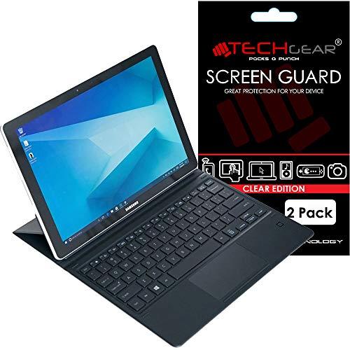 TECHGEAR [2 Stück Bildschirmschutz für Galaxy Book (12,0 Zoll) - Ultra Klare Schutzfolie für Samsung Galaxy Book 12 mit Reinigungstuch + Applikationskarte