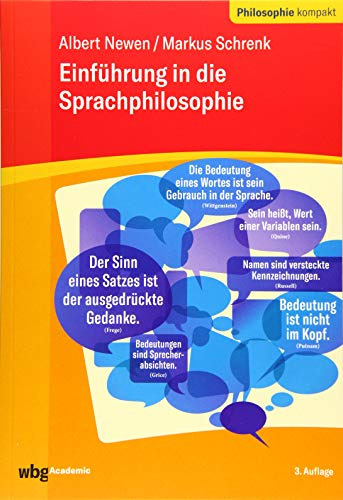 Einführung in die Sprachphilosophie (Philosophie kompakt)