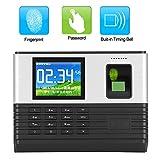 Máquina Fichar, Máquina de Asistencia Biométrica de Huella Dactilar, Asistencia de Tiempo Wifi Rfid Control de Acceso de Tarjeta de Contraseña de Huella Digital Biométrica(yo)