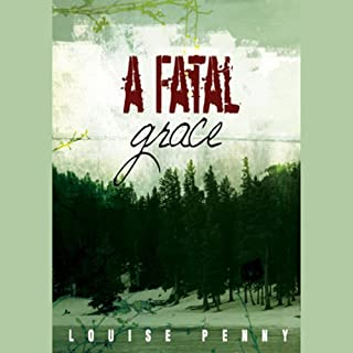 A Fatal Grace audiobook cover art