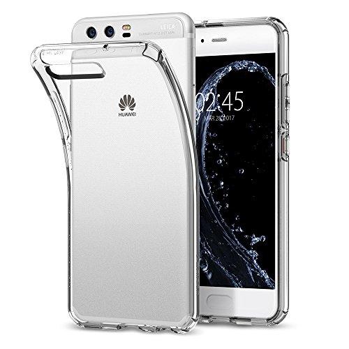 Spigen [Liquid Crystal Huawei P10 Hülle (L13CS21505) Transparent TPU Silikon Handyhülle Kratzfest Durchsichtige Schutzhülle Flex Case (Crystal Clear)