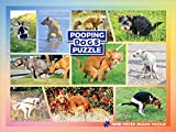 Pooping Dogs Puzzle - Funny Prank Gag Gift for Dog Lovers and Owners - 1000 Piece Jigsaw Puzzle