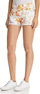 7 for All Mankind Womens Cut Off Shorts in Loft Garden