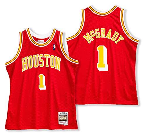 Mitchell & Ness Tracy McGrady Houston Rockets Camiseta de la NBA 2004-05 (S)