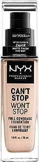 NYX Professional Makeup Base De Maquillaje Can't Stop Won't Stop, 30 ml