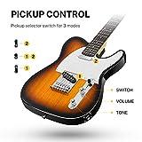 Immagine 2 donner telecaster chitarra elettrica kit