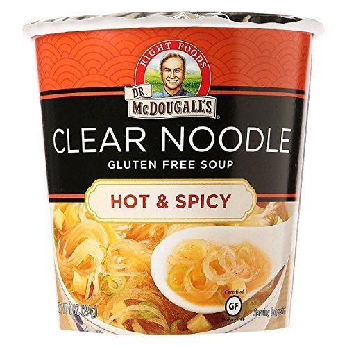 Dr McDougalls Hot and Spicy Clear Noodle Asian Soup, 1 Ounce - 6 per case.