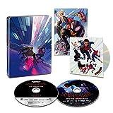 【Amazon.co.jp限定】スパイダーマン:スパイダーバース 4K ULTRA HD & ブルーレイセット スチールブック仕様(初回生産限定)(特典 スペシャル・ボーナスディスク付) [4K ULTRA HD + Blu-ray] [Steelbook]