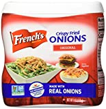 French's Original Crispy Fried Onions, Certified Kosher, Made in the USA, 6 oz (Pack of 2)