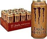 Evaxo Monster Java 300 Mocha Cans, 15oz, 12 Pack