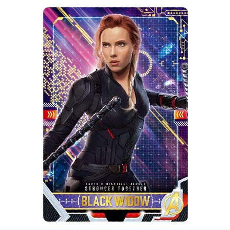 Sale!! The Avengers/End Game 2 [8. Character Card 8: Black Widow] / miniature Card