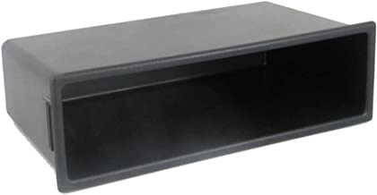 Universal Black Stereo Iso Pocket for Double Din Fascia Adaptors