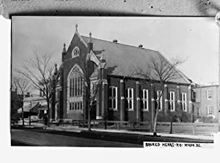 early 1900s photo Sacred Heart Catholic, Wash., D.C. Vintage Black & White Ph a3