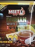 Meet U Durian White Coffee - 10 sticks (30g each) - Product of Malaysia
