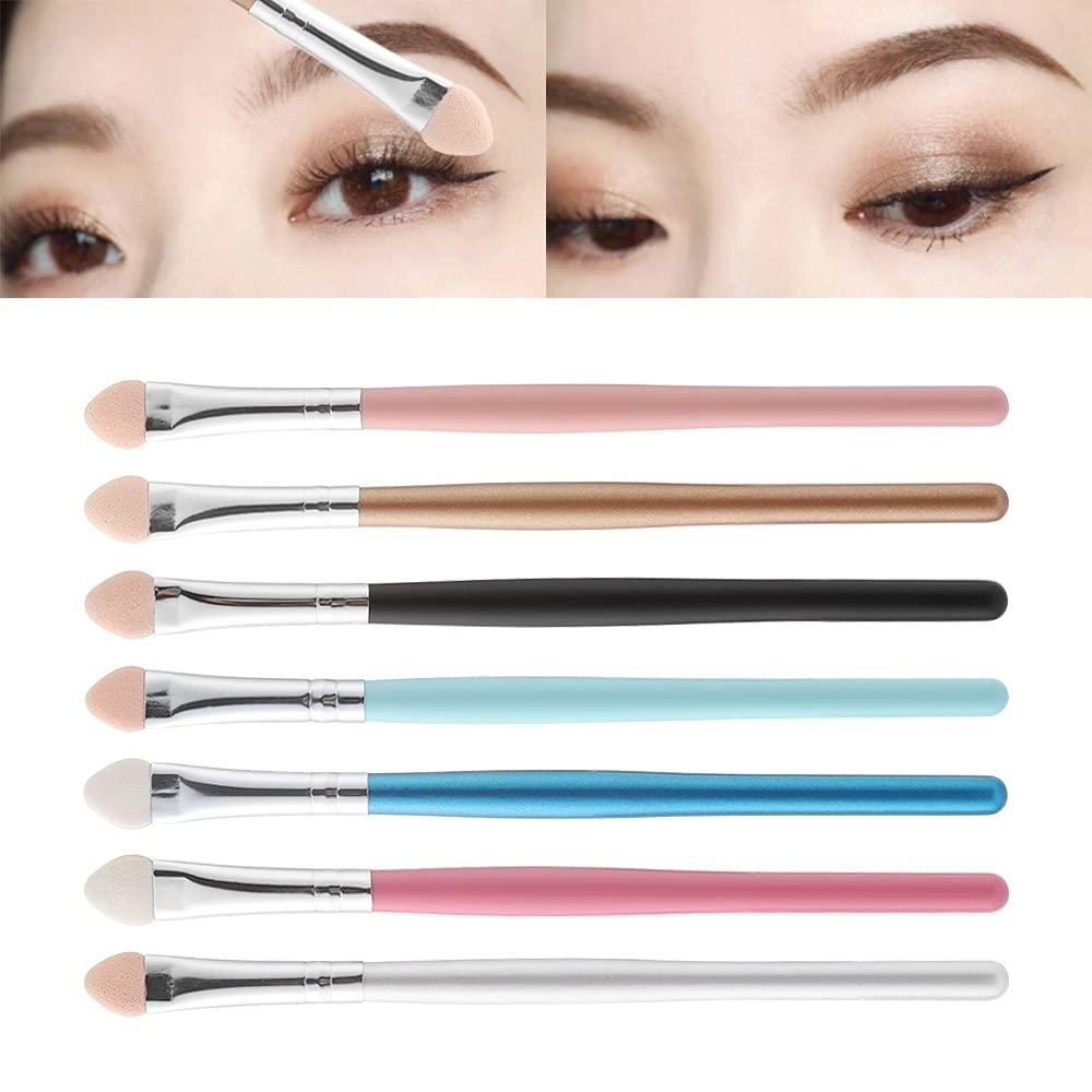 7pcs Cosmetic Makeup Free shipping on posting reviews Tools Long Handle Brush Max 41% OFF Eyeshadow Portable