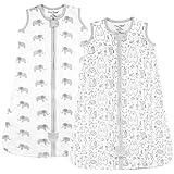 Baby Wearable Blanket, Organic Cotton Sleep Bag, Sleeping Sack with 2-Way Zipper, X-Large (18-24 Months)