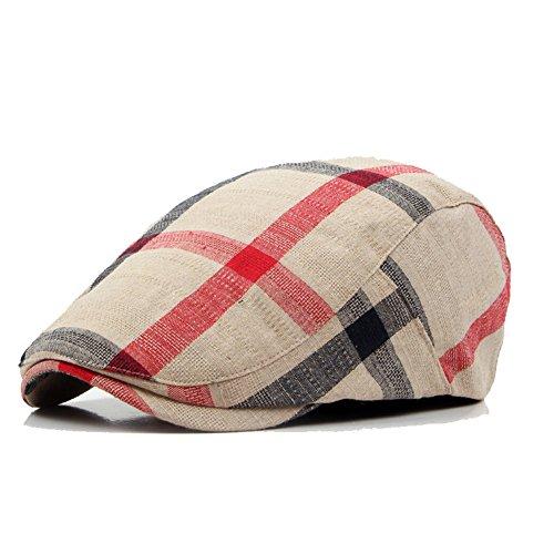 Adantico Unisex de la Boina Sombrero (Beige)