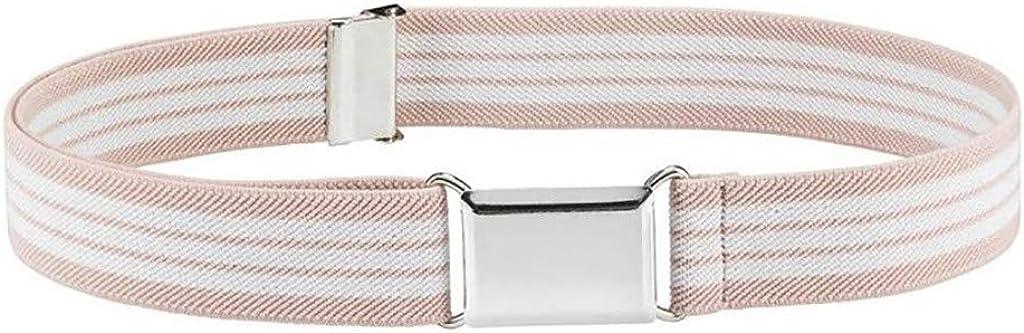Kids safety Toddler Belt Elastic Adjustable Belts Stretch Unisex Silver Miami Mall