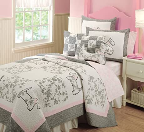 girls room dog bedding