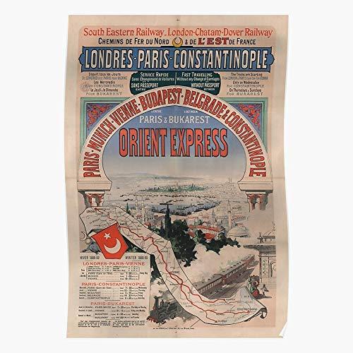 1910S Advert Art Travel Retro Vintage I Fashion - Trendy Poster for Wall Art Home Decor Room I Customize !