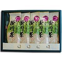 鈴木園 【のし・包装可】深蒸しがおいしい!伝統のお茶づくり 静岡 掛川市健康カプセルで紹介 緑茶パワーを最大限に引き出すワザ 掛川の深蒸し茶 「掛川茶」100g×5袋ギフトセット kakegawacha-gift05 SZK-KAKEGAWACHA-GIFT05