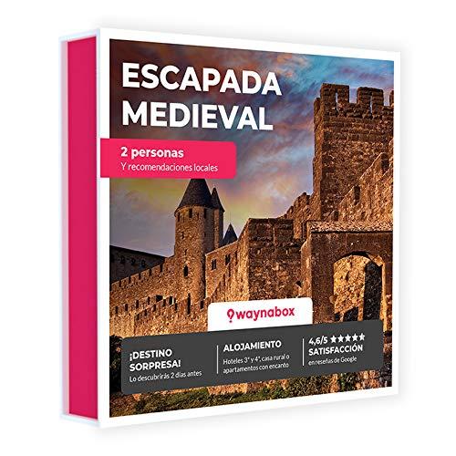 Caja Regalo - ¡Escapada Sorpresa Medieval de Dos días para Dos! - con hoteles y Casas Rurales con Encanto - El Mejor Cofre de experiencias para Regalar