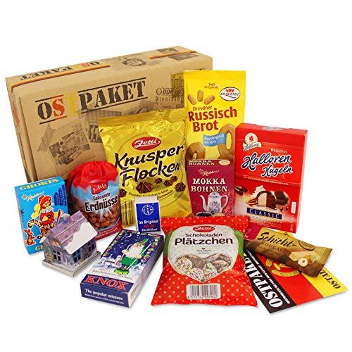 DDR Paket Weihnachten, Ostprodukte Ostpaket, Geschenkset Weihnachten Spezialitätenpaket