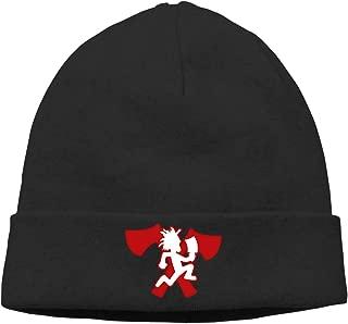 MUtang Ogbcom Hatchetman ICP Logo Skull Hats Knitted Cap Beanie Black