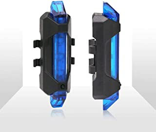 USB Rechargeable Bicycle taillights with Safety Warning Bicycle LED Waterproof Rear taillights