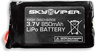 Sky Viper Extended Flight Time 3.7V 850mAh Drone Rechargeable LiPo Extra Battery
