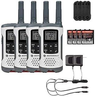 Motorola T260 Rechargeable Two-Way Radios / Walkie Talkies 4-PACK