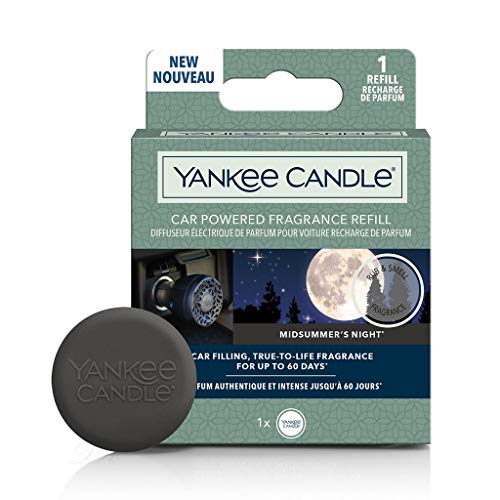 Yankee Candle 1627169E Car Powered Fragrance Diffuser Refill, Midsummer's Night