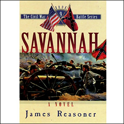 Savannah audiobook cover art