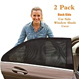 KeepCart Universal Fit Car Back Side Window Baby Sun Shade Cover (1 Pair)