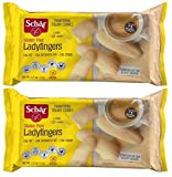 Ladyfingers - Naturally Gluten-Free and Wheat-Free - 5.3 oz Each (Pack of 2)...