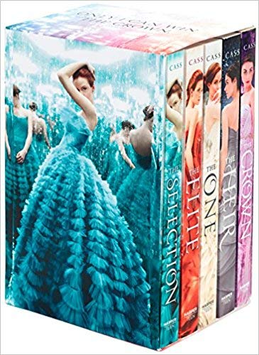 [By Kiera Cass ] The Selection 5-Book Box Set: The Complete Series (Paperback)【2018】by Kiera Cass (Author) (Paperback)
