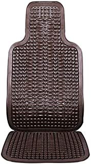 DKX 1Pcs Universal Summer Car Seat Cool Cushion PVC Beaded Massage Automobile Chair Cover With Soft Waist mat Breathable D...