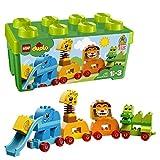LEGO 10863 DUPLO Caja de ladrillos Mis primeros Animales, Creativo Juguete de Construcción para Niños en Edad Preescolar