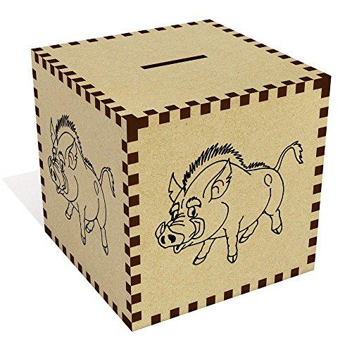 Azeeda Groß 'Wildschwein' Sparbüchse / Spardose (MB00008270)