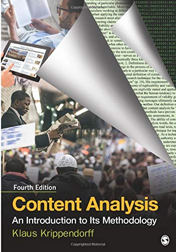 Content Analysis: An Introduction to Its Methodology (NULL)