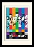 1art1 Big Bang Theory - Signals Gerahmtes Bild Mit Edlem