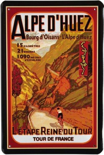 Affiche tour de france alpentour 498 20 x 30 cm